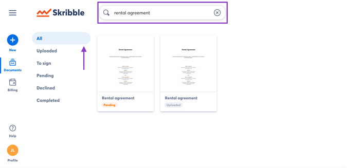 Search all documents